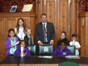 Queens 90th Birthday comp winners visit to Westminster