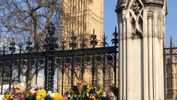 Flowers at Westminster
