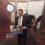 GJ at Battersea Dogs Home launch on tougher penalties