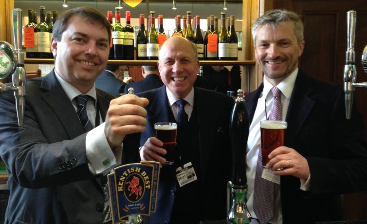 Dartford Brewers in Parliament – 28th February 2014