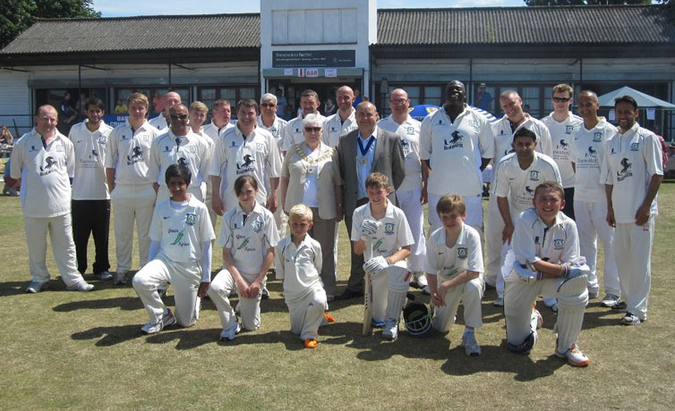 Charity Cricket Team – 30th June 2013