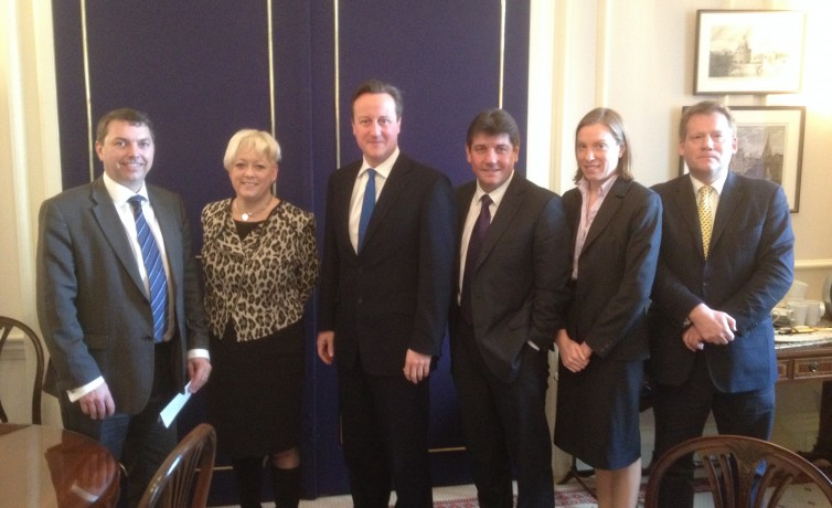 With Prime Minister re Lower Thames Crossing