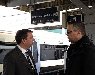 Gareth visits the refurbished Dartford Station – 28th February 2014