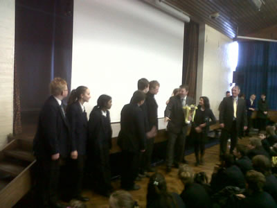 Awards for Leigh Trust Academies – 20th January 2011