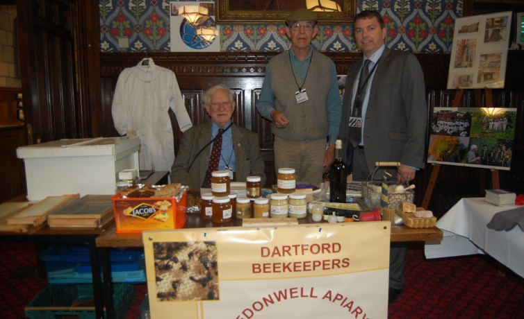 Gareth with Dartford Beekeepers in Parliament – 15th May 2013