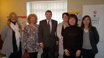Dartford Family Action visit – 13th January 2011