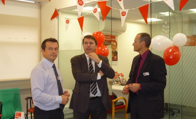 Visit to Dartford Post Office – 13th December 2013