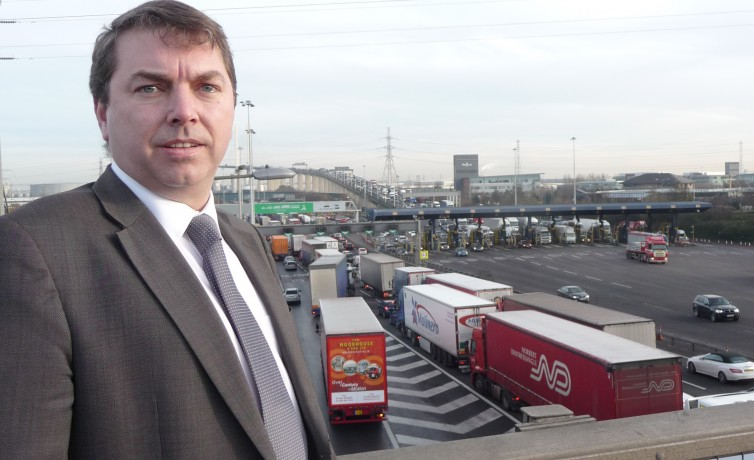 Gareth visits Dartford Crossing – 13th March 2014
