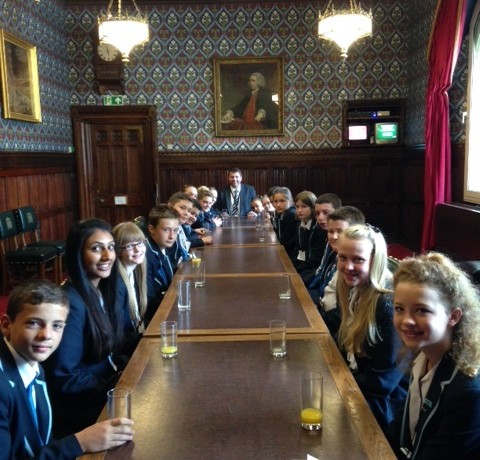 Ebbsfleet Academy Student Council Visit to Westminster – 23rd June 2014