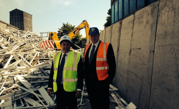 Visiting Veka Recyling in Swanscombe – 4th July 2014