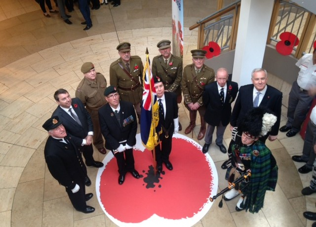 Armistice Day, Bluewater – 11th November 2014