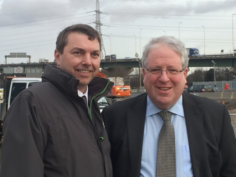 Dartford Crossing with Patrick McLoughlin
