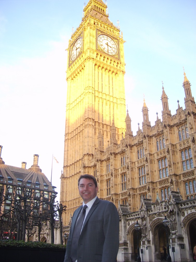in front of big ben 1