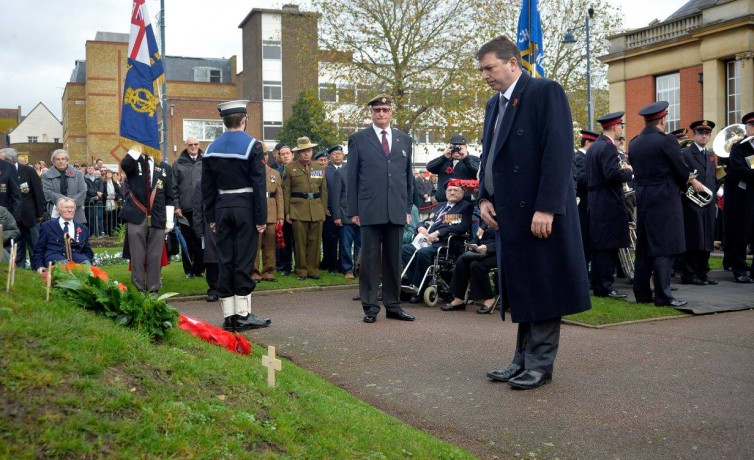 Remembrance Sunday – 8th November 2015