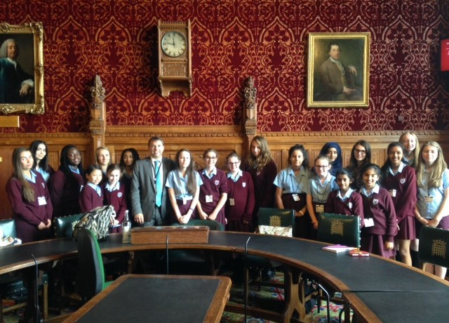 WGSG visit to Westminster