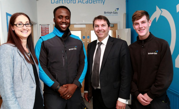 Visit to British Gas Training Academy – 13th May 2016