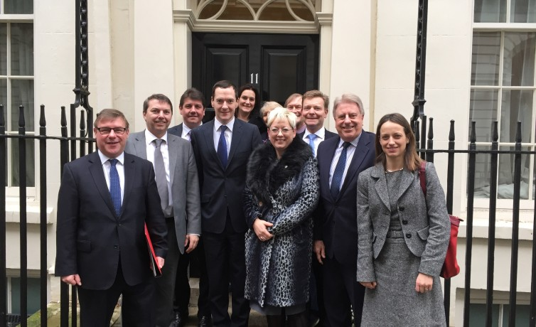 Thames Gateway meeting with chancellor - January 2016