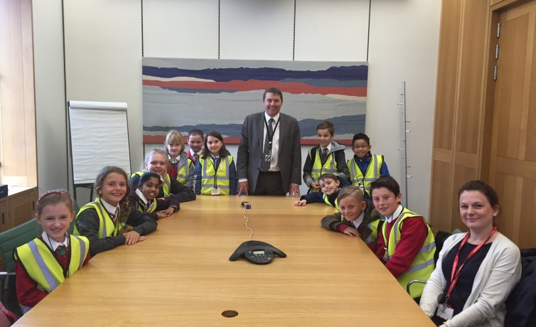 West Hill School visit