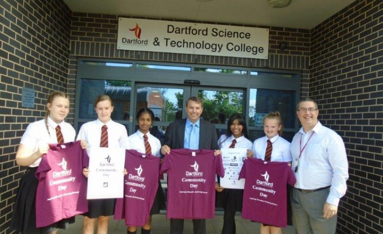 Dartford Science and Technology College Community Day