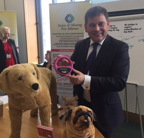 Dog Theft Awareness Day - philip hollobone MP