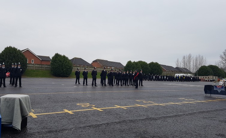 Kent Police Passing Out Parade - January 2017