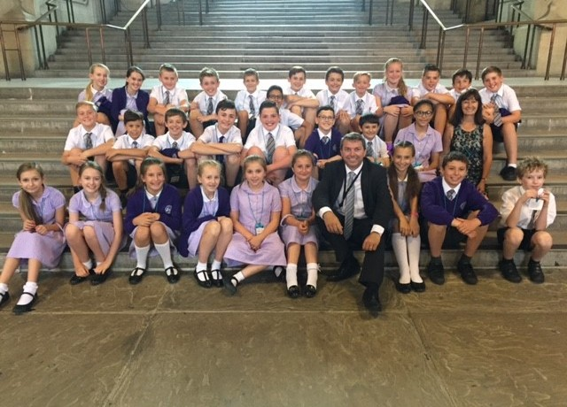 Our Lady of Hartley Catholic Primary school visit to Westminster