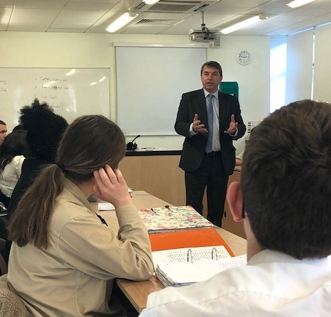 GJ visit to DGGS Year 12 Politics