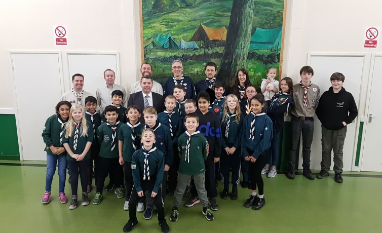 Hurricane Explorer Scouts – February 2018