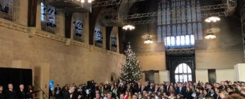 Christmas Westminster Hall