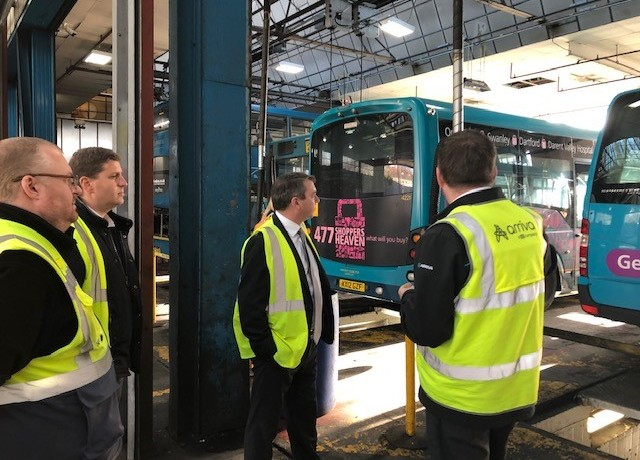 Meeting with Arriva – November 2018