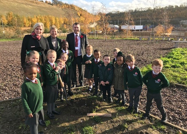 Cherry Orchard Tree Planting 9.11.18