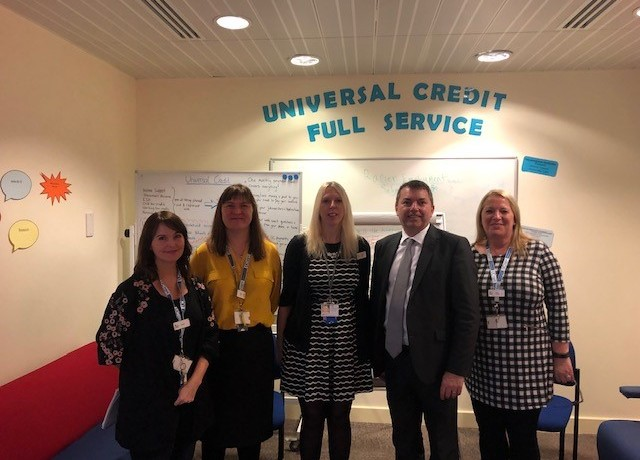 Visiting Jobcentre Plus in Dartford – November 2018