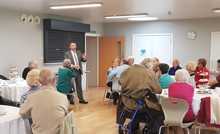 Meeting Stone residents – November 2018